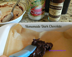 homemade dark choc fix