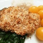 Pecan Sesame Encrusted Chicken