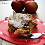 Pantry Apple Crumble Cake