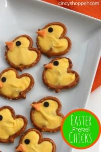 Easter-Pretzel-Chicks-Treats