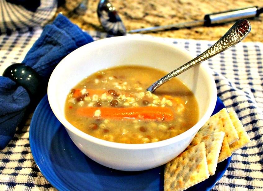 chicken barley soup sharper crock pot