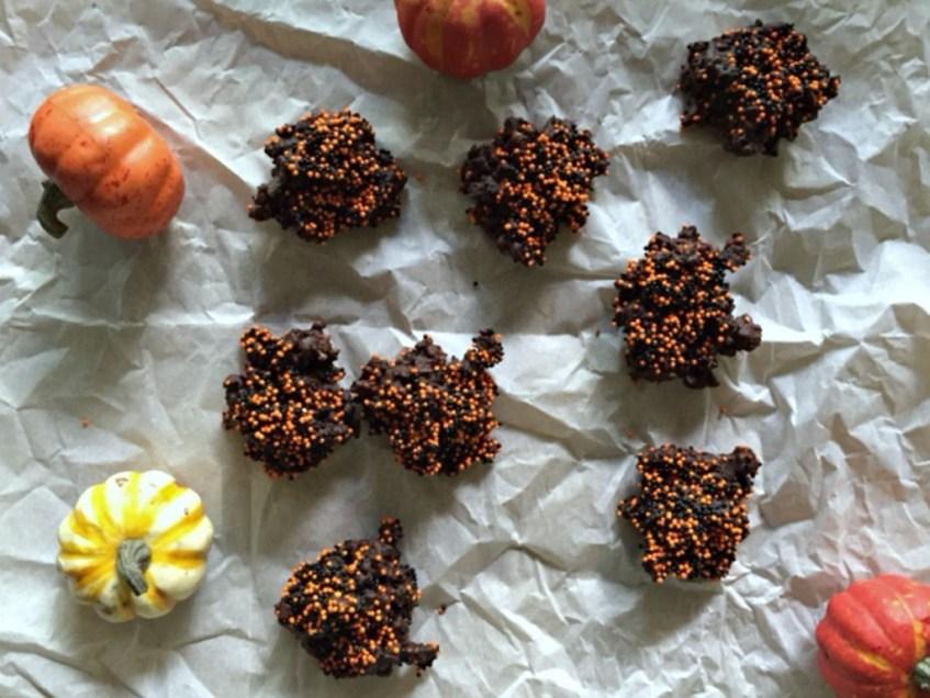 Mini Dark Chocolate Clusters
