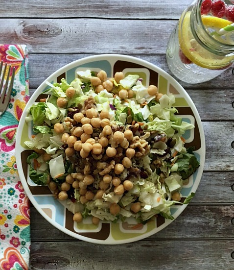 Healthy Hempseed Chickpea Salad