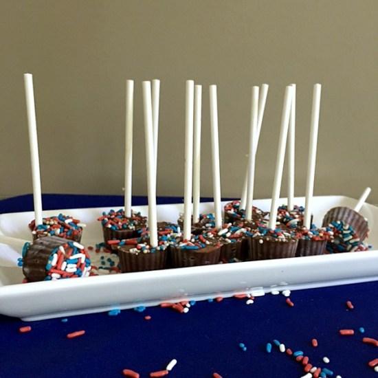 Patriotic Pudding Pops