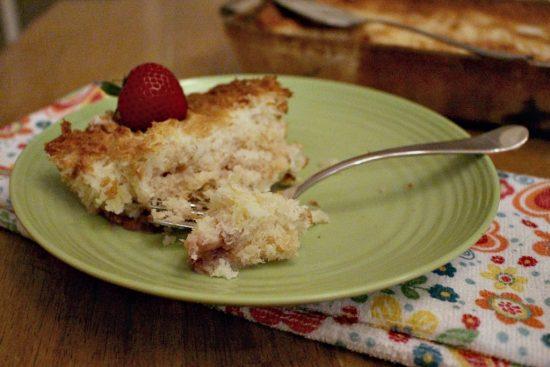 Strawberry Pineapple Dump Cake