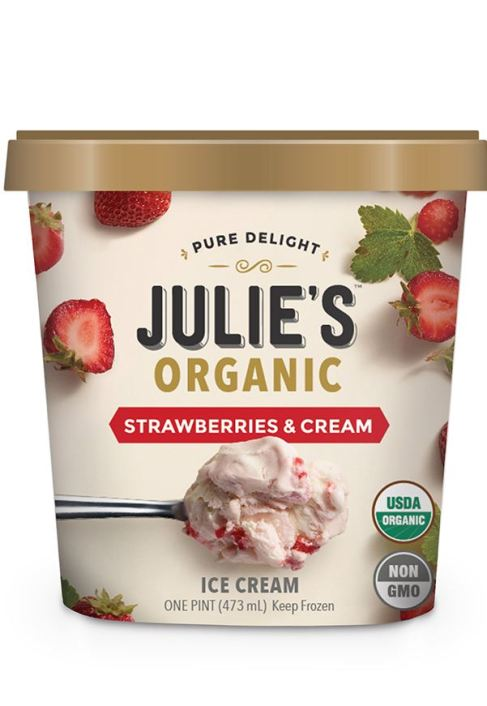 9 Healthy Ice Cream Brands Youll Devour With Zero Regrets: Julie's Organic Ice Cream