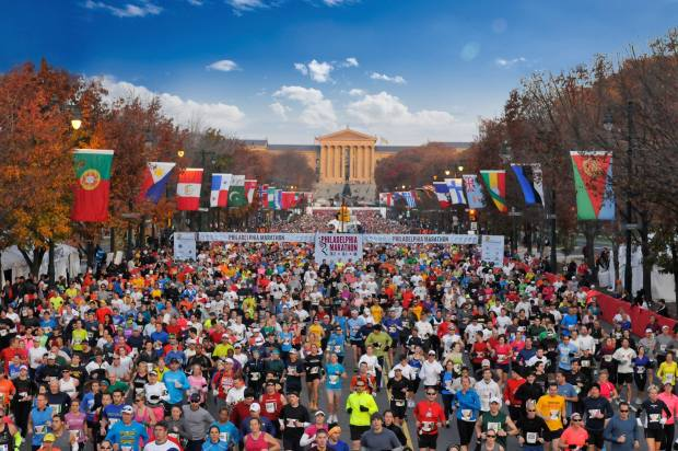 The 50 Best Half-Marathons in the U.S. - Philadelphia Half Marathon in Philadelphia, Pennsylvania