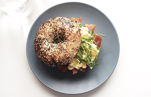 Healthy Breakfast Ideas: Whole-Grain Bagel