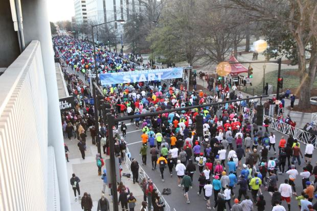 The Best 50 Half-Marathons in the U.S. - Mercedes-Benz Half Marathon in Birmingham, Alabama