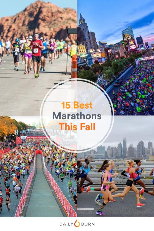 The 15 Best Fall Marathons in the U.S.