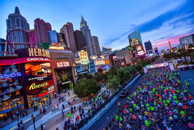 The 15 Best Fall Marathons in the U.S. - Rock n Roll Las Vegas Marathon in Las Vegas, Nevada