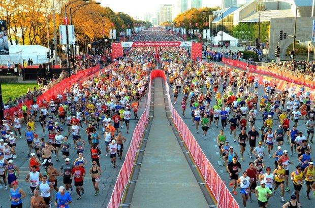 The 15 Best Fall Marathons in the U.S. - Chicago Marathon in Chicago, Illinois
