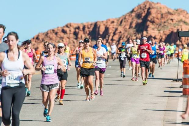 The 15 Best Fall Marathons in the U.S. - St George Marathon in St. George, Utah