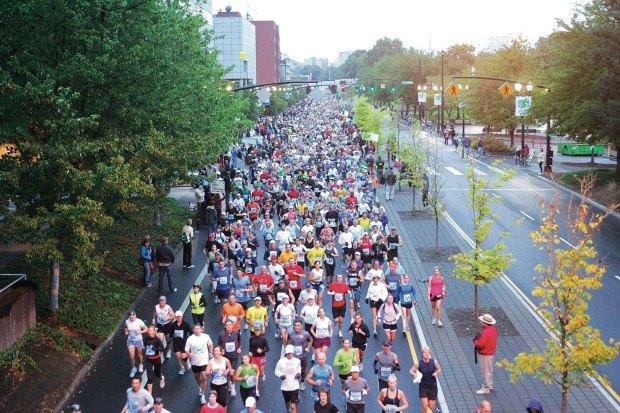 The 15 Best Fall Marathons in the U.S. - Portland Marathon in Portland, Oregon