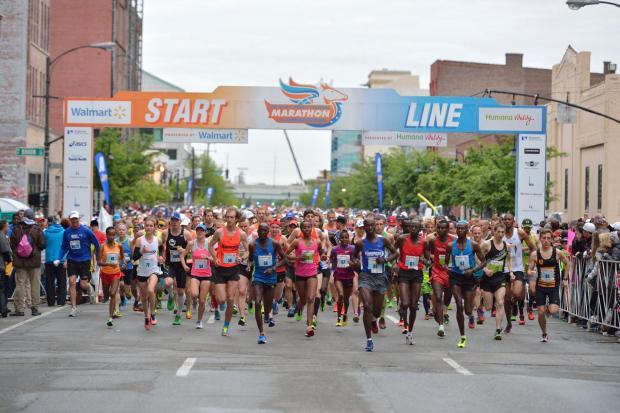 Kentucky Derby Festival Marathon - Best Spring Marathons