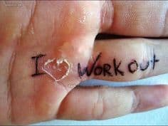 love of workouts