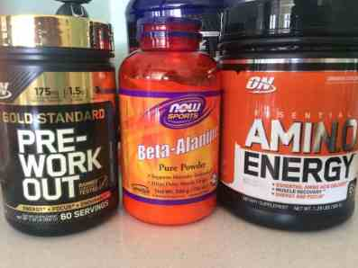 pre-workout stack