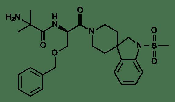 Ibutamoren structure