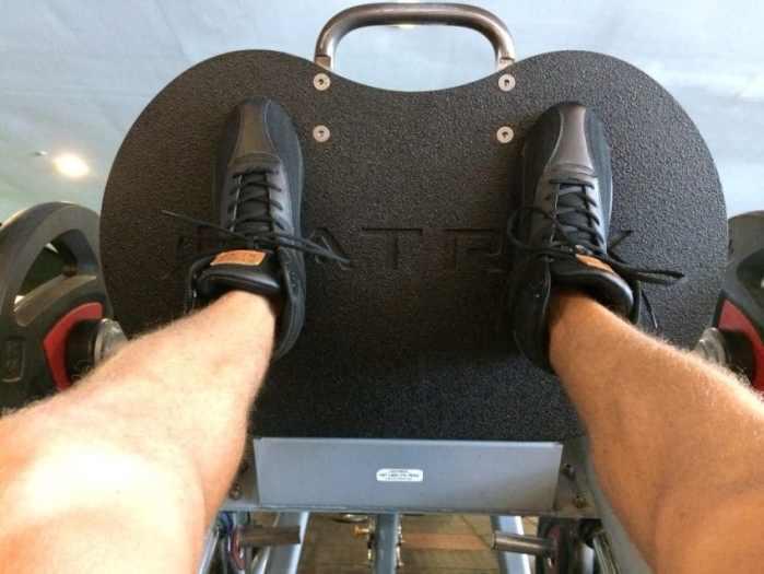 leg pressing