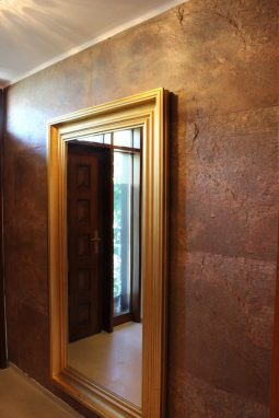 Spiegel mit Skinrock
