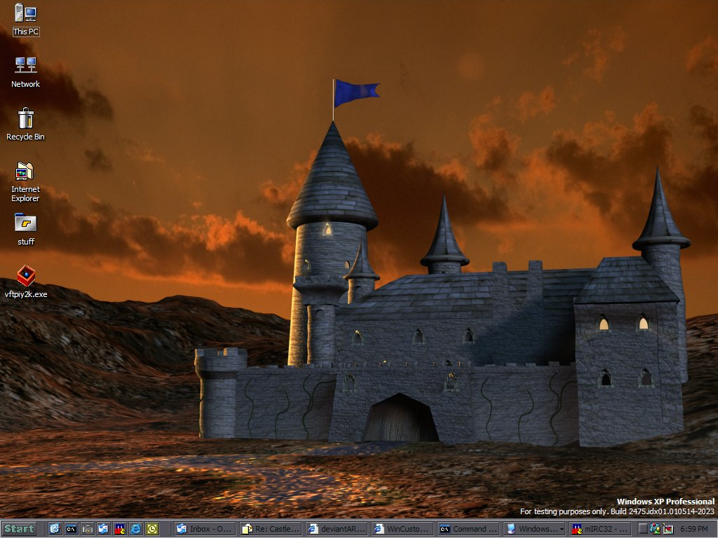 Stardock Animated Wallpaper Wincustomize Explore Desktopx Objects Castle Animated