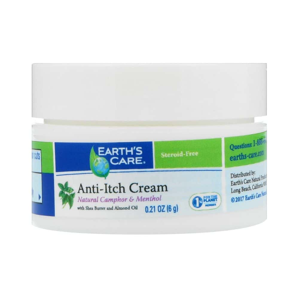 Earth's Care Anti-Itch Cream, with Shea Butter and Almond Oil (6g) -  Skinshare Singapore