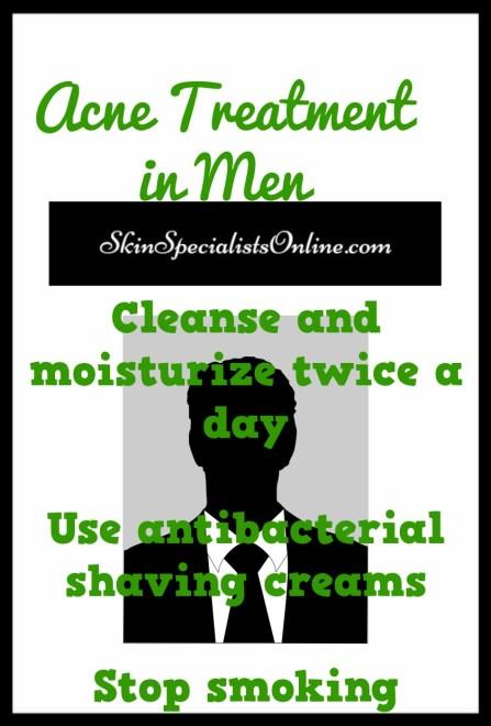 acne treatment in men