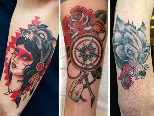 Tatuajes Tradicional Americano Old School Skin Tattoo