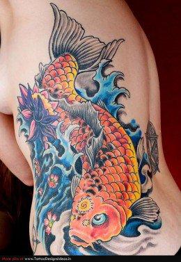 Significado De Los Tatuajes De Pez Koi Skin Tattoo