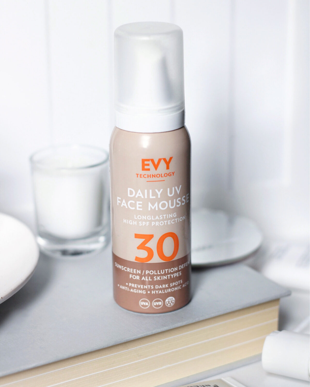 UV Daily Mousse Evy Technology