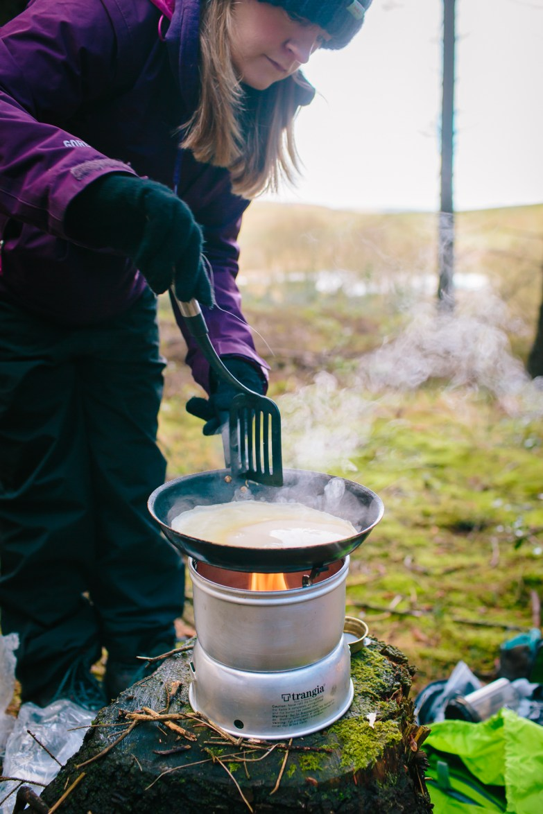 Cook on a Trangia Stove