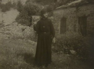 My Father, Georgios Kefaloukos on Mount Athos.