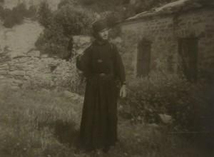 My Father, Georgios Kefaloukos on Mount Athos.