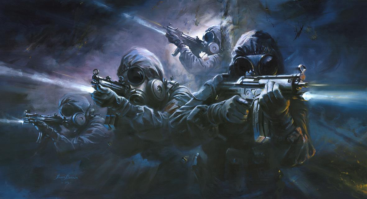 Pubg Parachute Wallpaper Explosive Entry Military Artist Stuart Brown