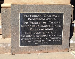 Sadly the Castlemaine Maryborough line closed to passengers in 1977