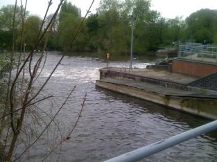 View from the weir
