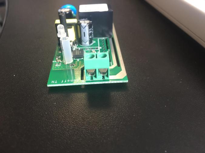 Screw connectors on Sonoff - WiFi Wireless Smart Switch