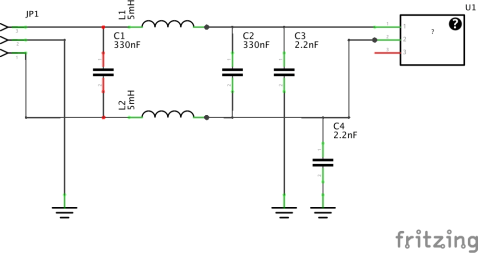 Schematics for Filter 2