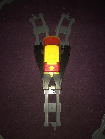a streight behind a old style switch will cause a loco to derail