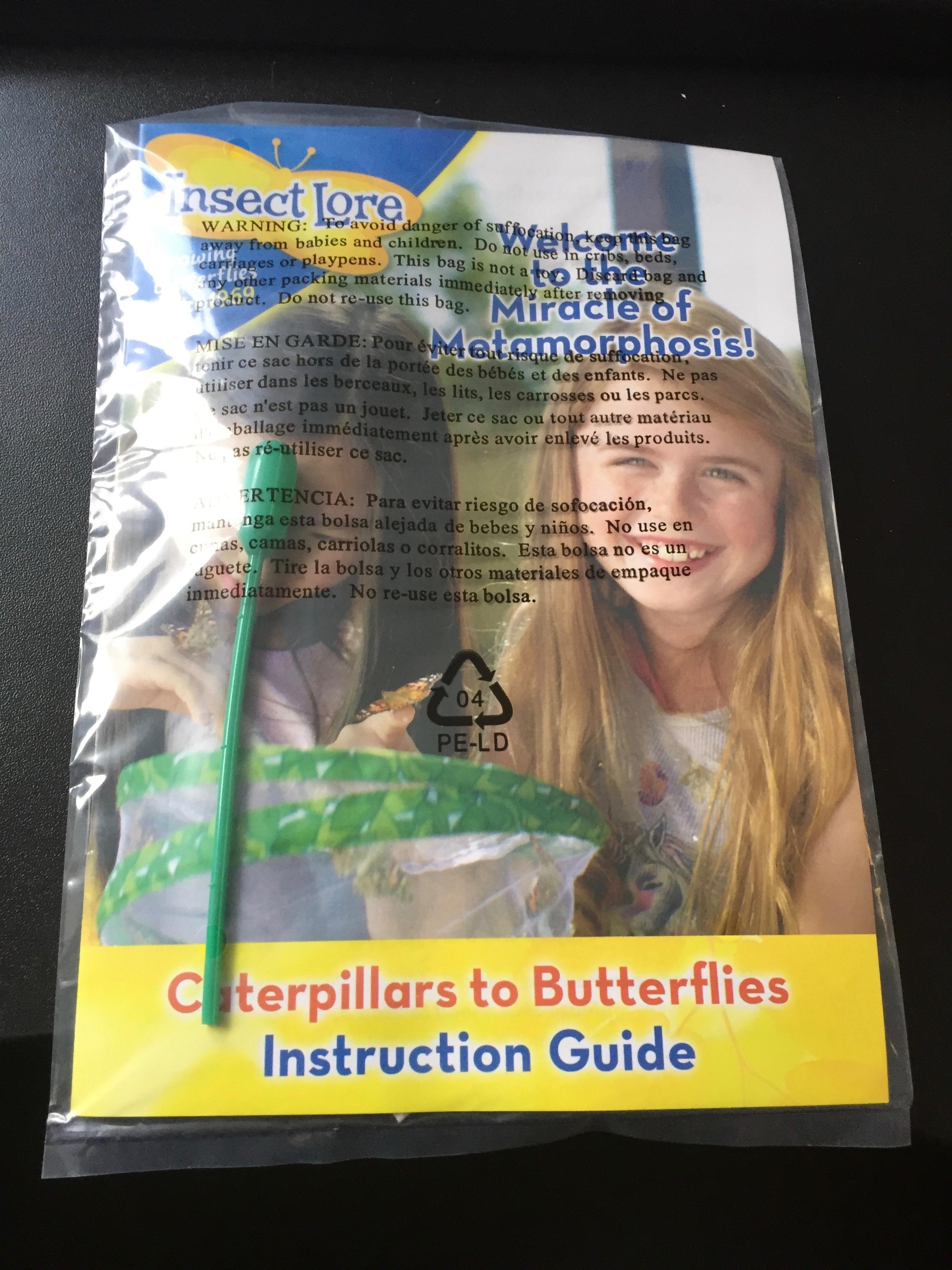 Instructions, and pipette