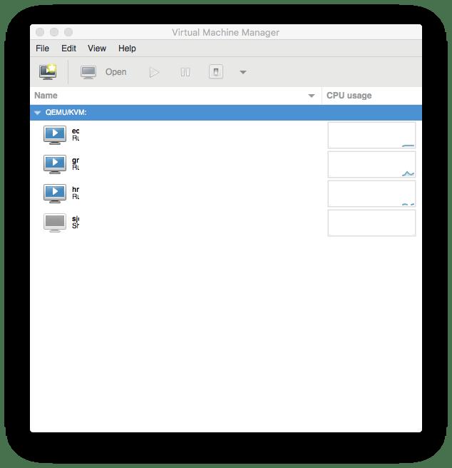be used to manage KVM, Xen, VMware ESXi, QEMU