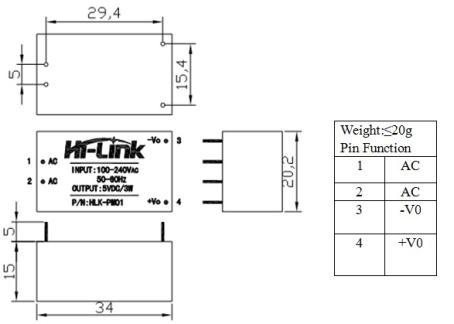 HLK-PM01 - Diagram