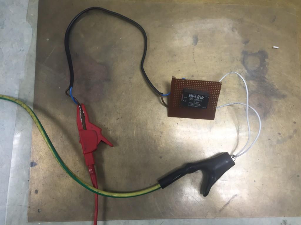 CLASS II Electric strength - 3.7 kVac (60s)