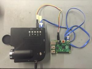 Cheap Chinese projector and Raspberry Pi