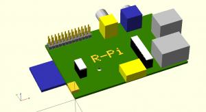 R-Pi-B OpenSCAD