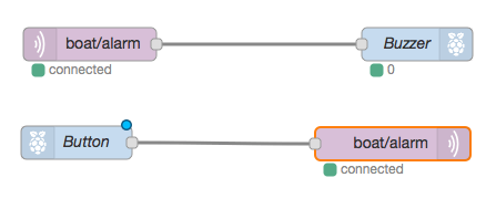 Buzzer connected to MQTT