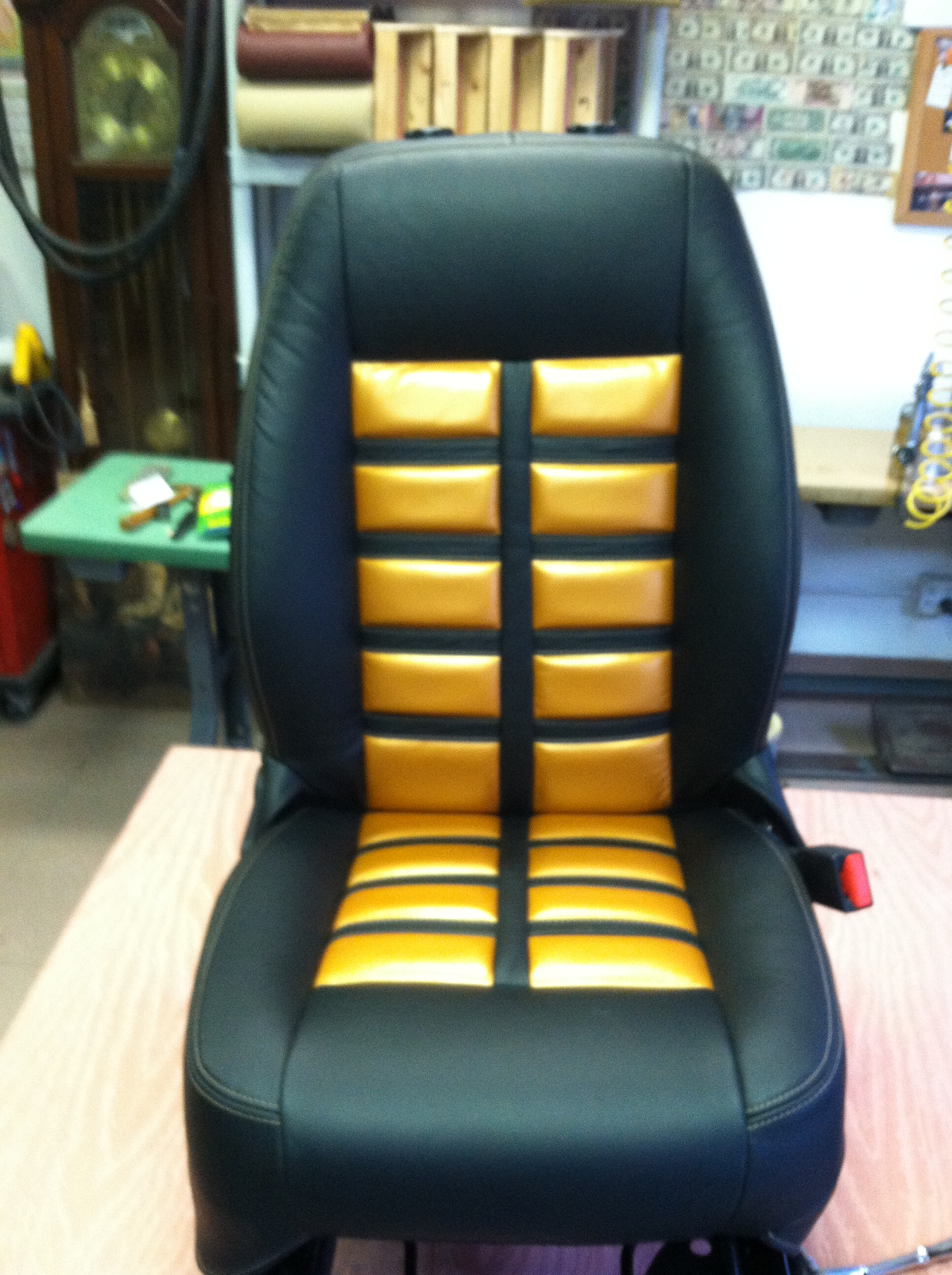 Chair Repair Shop Automotive Interior Upholstery Leather Car Seat Repair L I
