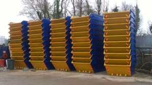 53 skips in our Nottingham yard