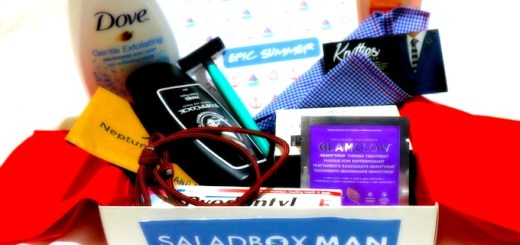 The Epic Summer Box From Saladbox Man   Skip The Flip