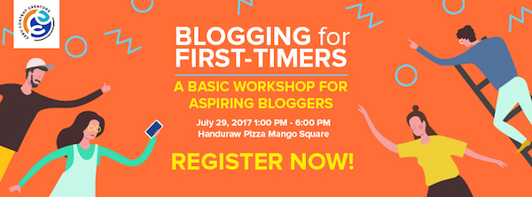 Blogging For First-Timers A #BFF Blogger's Workshop in Cebu | Skip The Flip